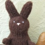 Calorie Free Chocolate Bunny free knitting pattern