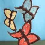 Crochet Butterfly Dishcloths