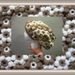 Flower Slouch Hat