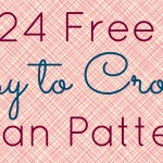24-Free-East-To-Crochet-Afghan-Patterns