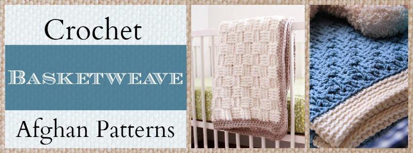 Basket Weaving Edging : Get comfy with crochet basketweave afghans stitch and unwind