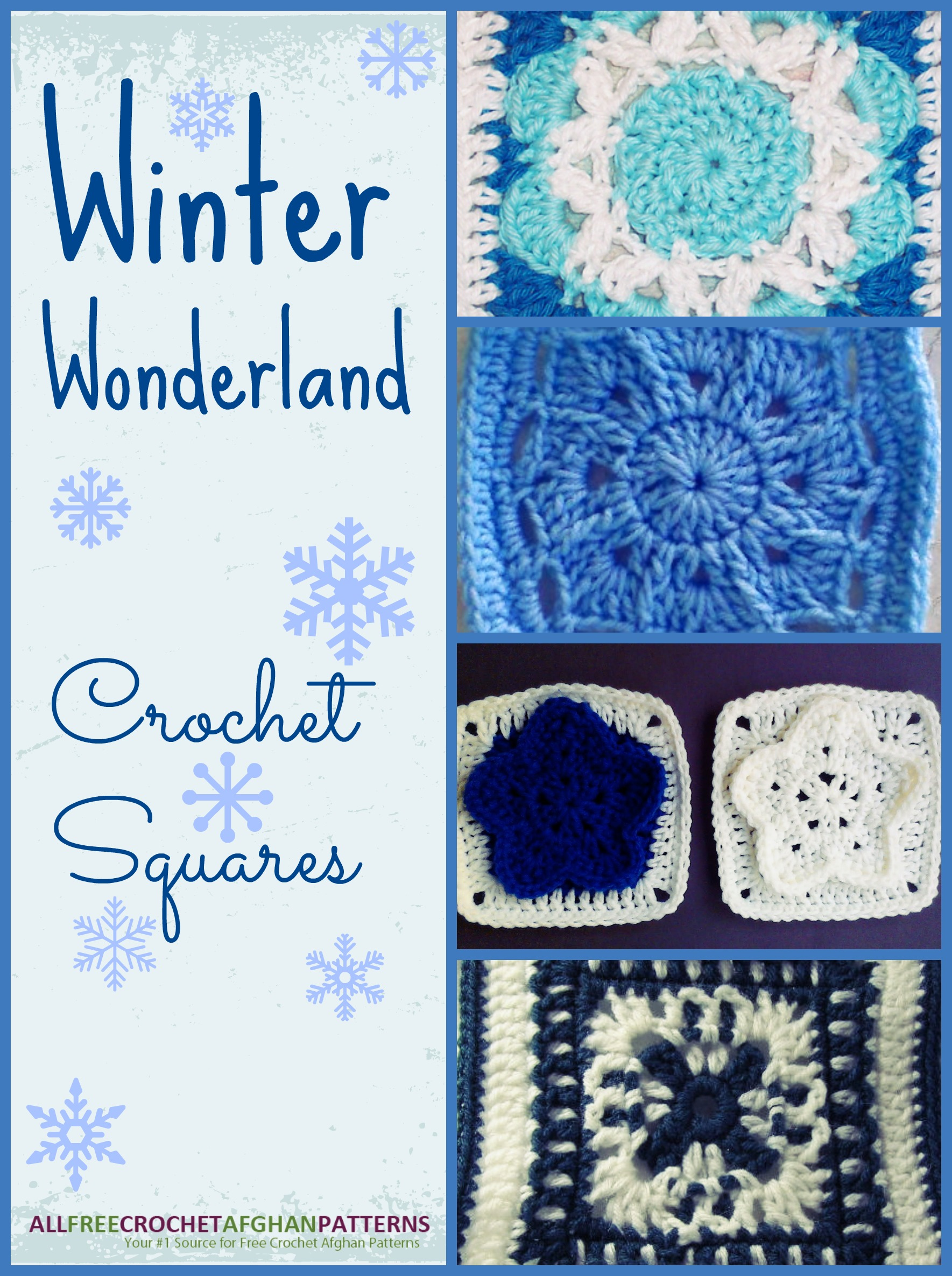 The Cutest Winter Granny Square Patterns - Stitch and Unwind