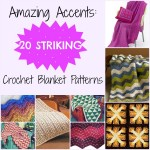 Amazing Accents: 20 Striking Crochet Blanket Patterns