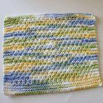 Moss Stitch Dish Cloth