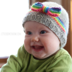 Rainbow Dreams Baby Hat