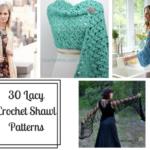 30 Lacy Crochet Shawl Pattern edits
