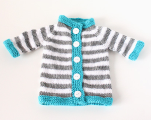 Stripey Baby Sweater Pattern