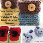 15 Baby Booties Crochet Patterns (1)