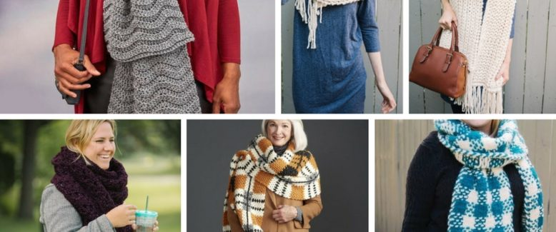 Fall Trend Alert: Crochet and Knit Super Scarves