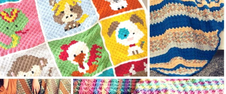 14 Corner-to-Corner Crochet Blanket Patterns
