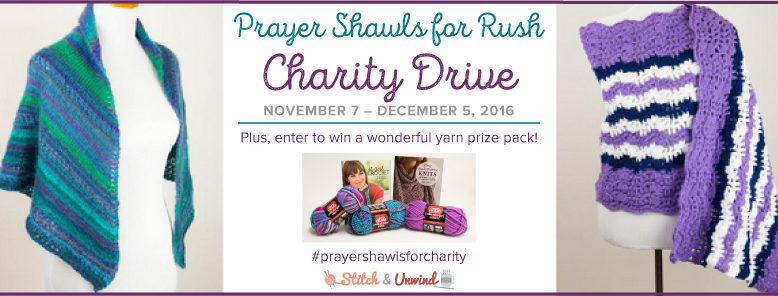 Prayer Shawls for Rush Charity Drive 2016: Last Chance!