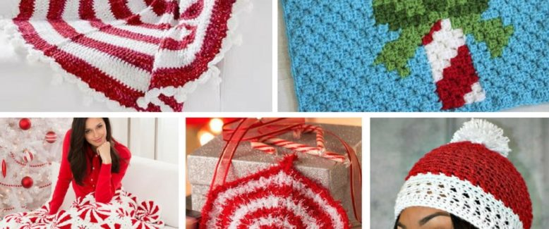 19 Favorite Peppermint Patterns for the Holidays