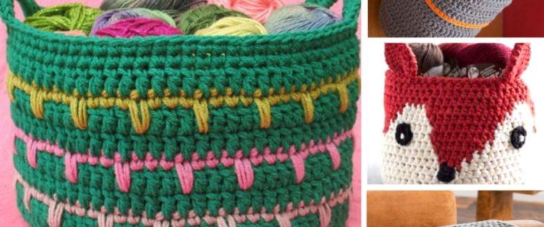 15 Crochet Organization Hacks for a New Year
